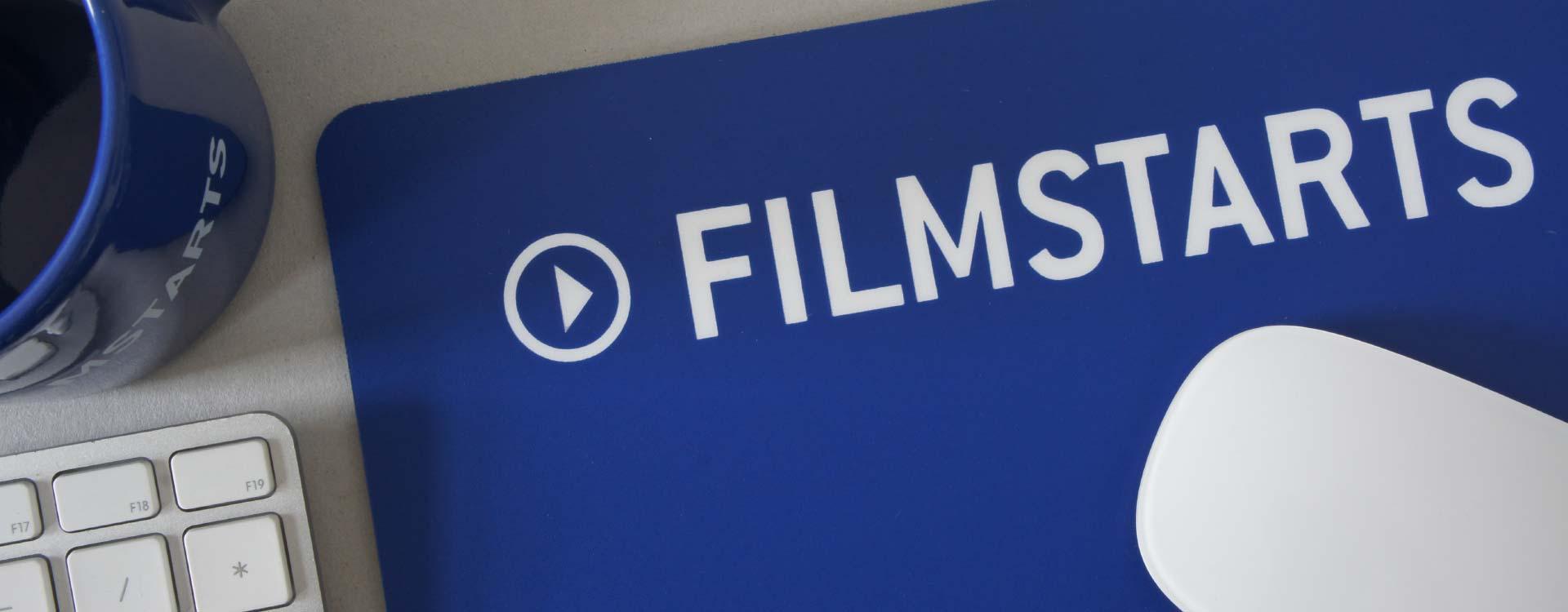 Mousepad mit dem Logo Filmstarts
