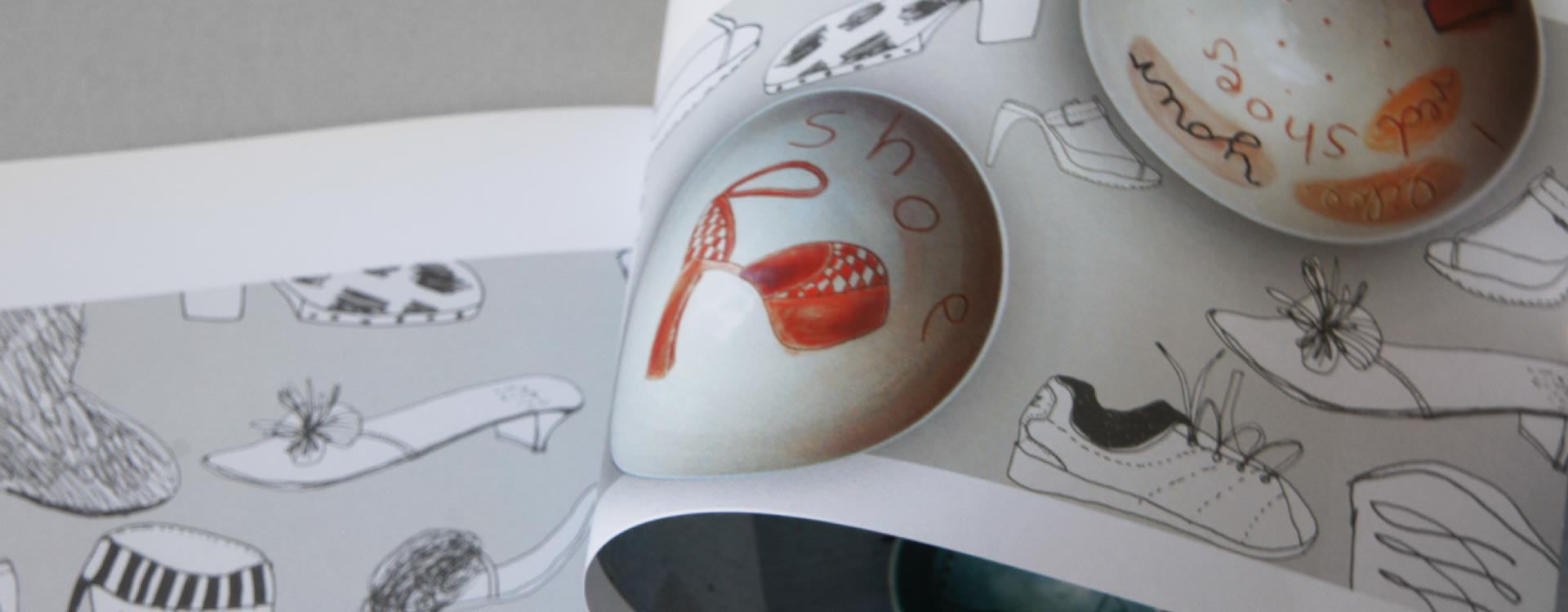 Catalogue Stefanie Neumann, Ceramics and Graphics; Design: Kattrin Richter | Graphic Design Studio