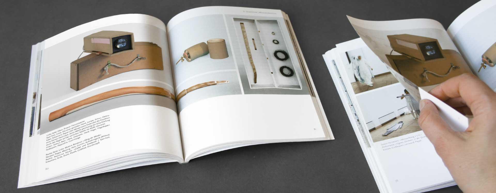Buch »Plastische und Räumliche Darstellung für Architekten«, Herausgeber UdK, Berlin; Design: Kattrin Richter |Büro für Grafikdesign